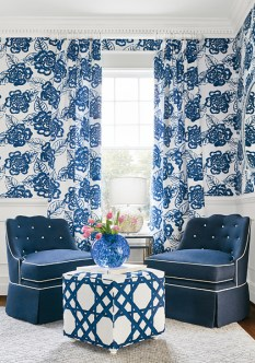 Thibaut Summerhouse Bonita Springs - Hoyer & Kast Interiors