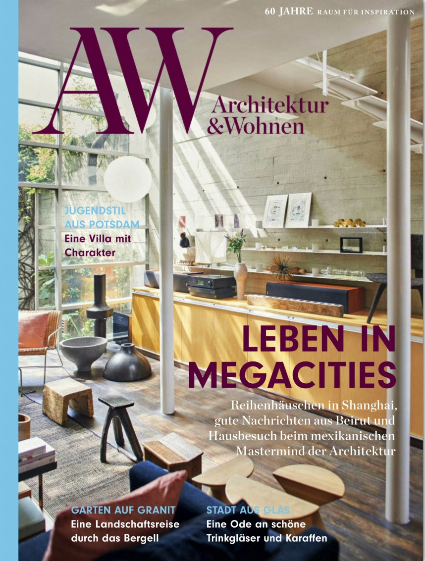 AW Architektur & Wohnen Oktober Cover