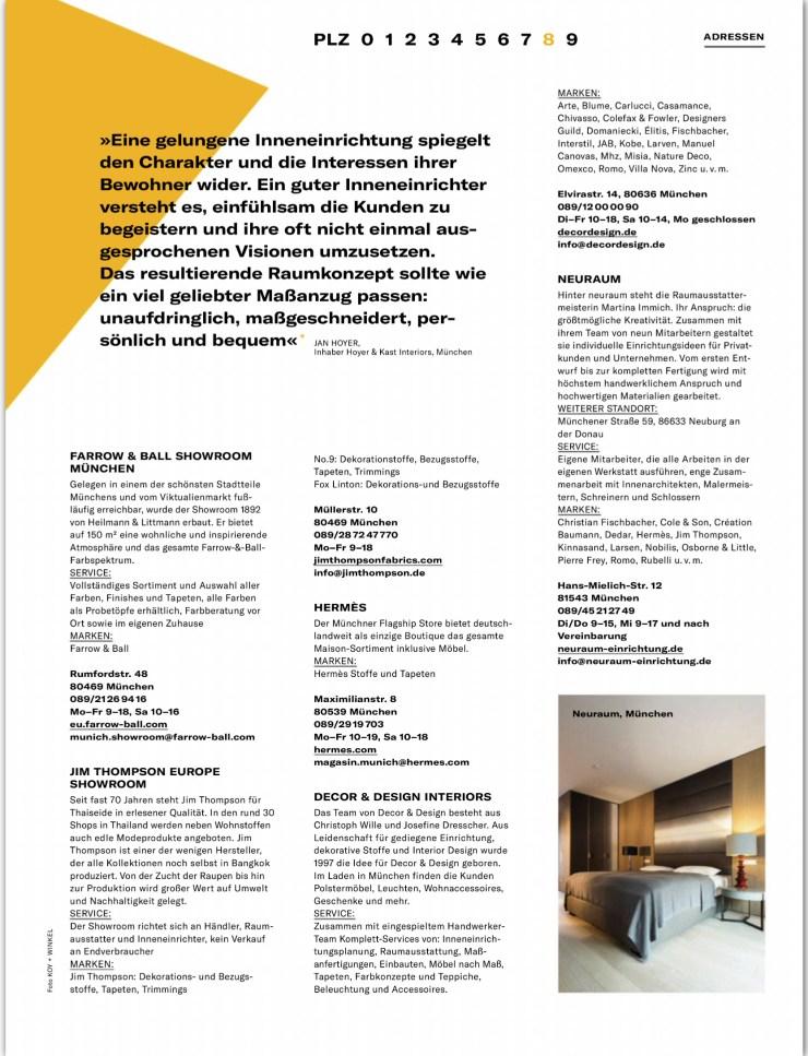 AW Architektur & Wohnen Raumausstatter 3