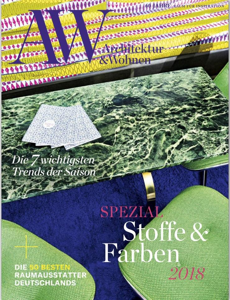 AW Architektur & Wohnen Raumausstatter Cover