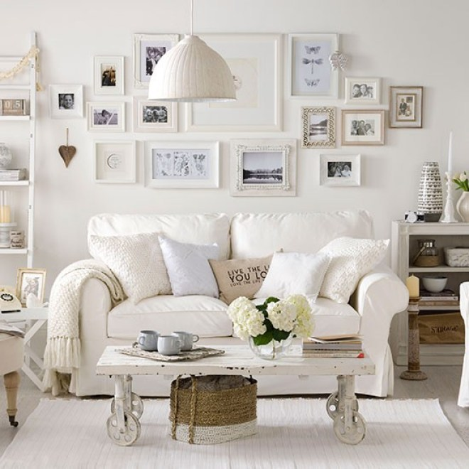 decoracion ambientes en blanco