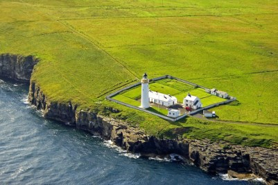 cantick lighthouse aerial