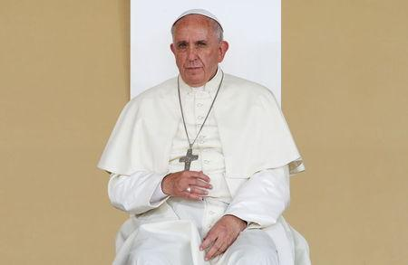 Pope Francis attacks firearms manufacturers.