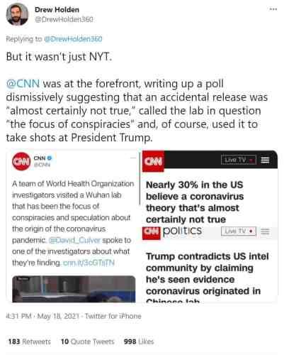 CNN Lab Leak