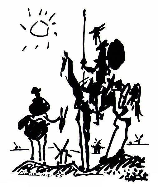 Don Quixote de Picasso