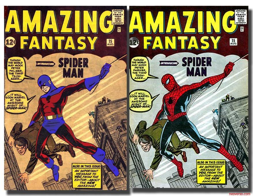 El primer traje de Spiderman