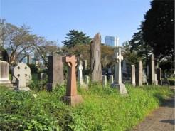 青山霊園 外人墓地