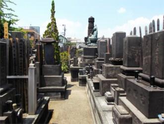 雲光院 墓地