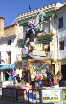 Falla Buñol Pueblo