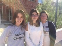 Nerea Campos Tello, Lucía Más Carrascosa y María Sánchez Guinda - CP Cervantes