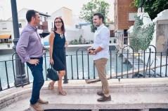 Maria Josep Amigó i l'alcalde Emili Morales visiten la 'Balsa de los Patos' de Chiva_01