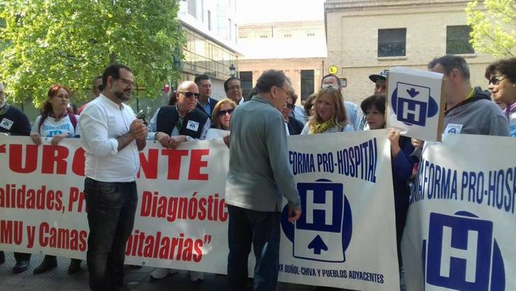 La Plataforma Pro Hospital pide reunirse con los altos cargos de la Consellería de Sanidad