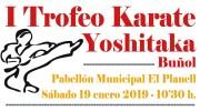 Buñol acoge este sábado el I Trofeo Kárate Yoshitaka