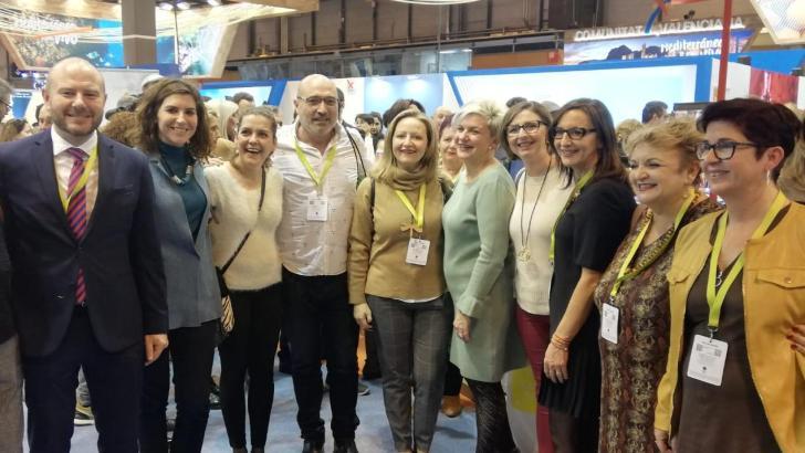 La Diputació acompaña en Fitur a las comarcas de interior con sus paisajes y el vino y la música como reclamos
