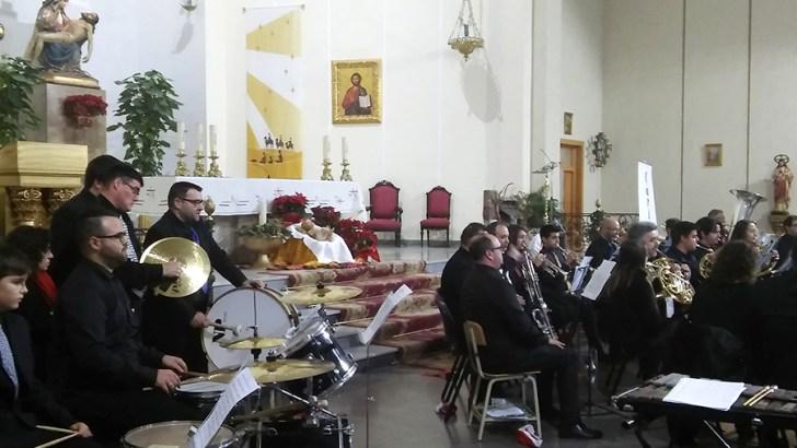 Las imágenes del concierto benéfico a favor de Cáritas en Buñol