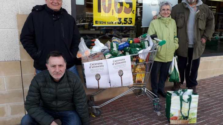 La RSP de Buñol recoge alimentos para el pueblo saharahui
