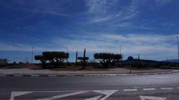 Rotonda entrada Buñol