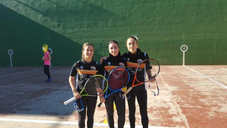 Inés Giménez Criado seleccionada para disputar el Campeonato de España de Frontenis