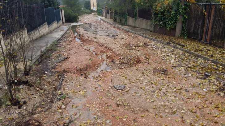 Macastre solicita ayuda para reparar los daños causados por la lluvia en Llanorel y Cuerna