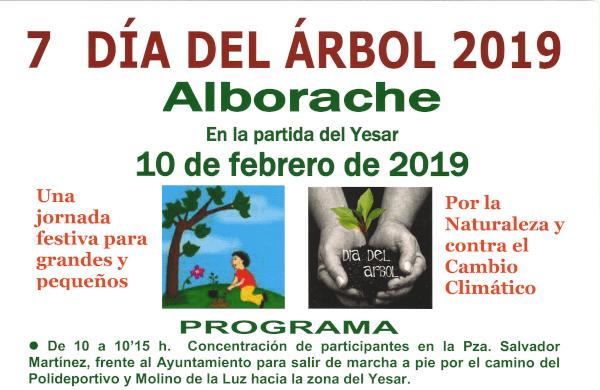 Alborache celebra este sábado el Día del Árbol