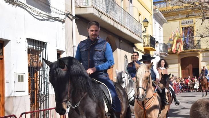 Degustación de embutidos y bendición de animales, actos destacados de la celebración de San Antón en Macastre