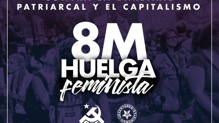 Esquerra Unida de La Hoya de Buñol-Chiva llama a la huelga feminista del 8-M