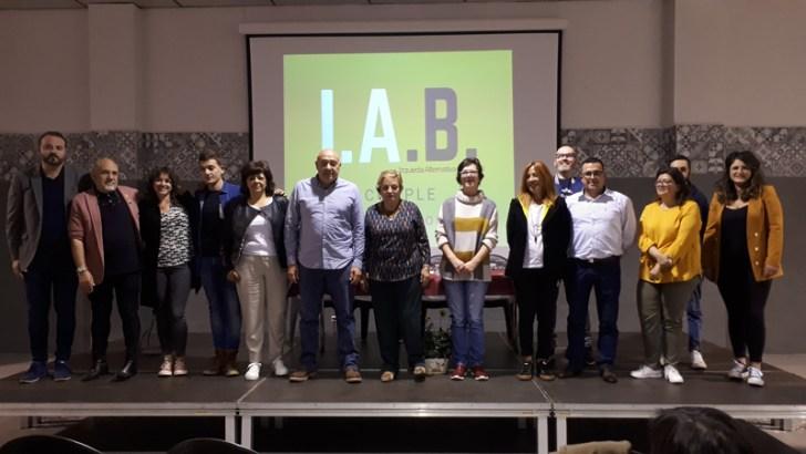 Las imágenes de la presentación de la candidatura de IAB a las elecciones municipales de Buñol