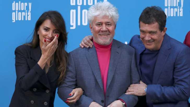 «Dolor y Gloria» este fin de semana en Cine Palacio