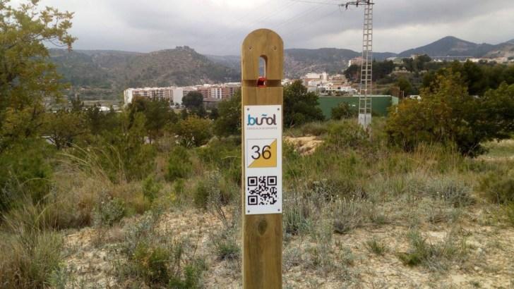 La Concejalía de Deportes de Buñol instala in Circuito de Orientación y un Espeleódromo en «El Planell»