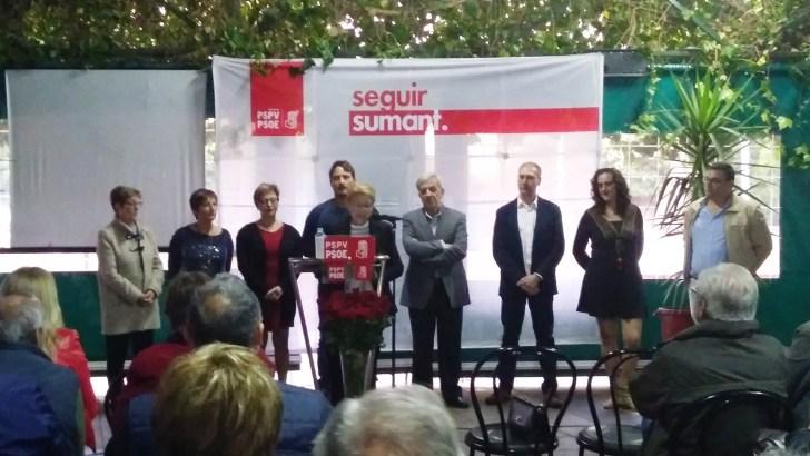 Paqui Collado encabezará la lista del PSOE para las municipales en Alborache
