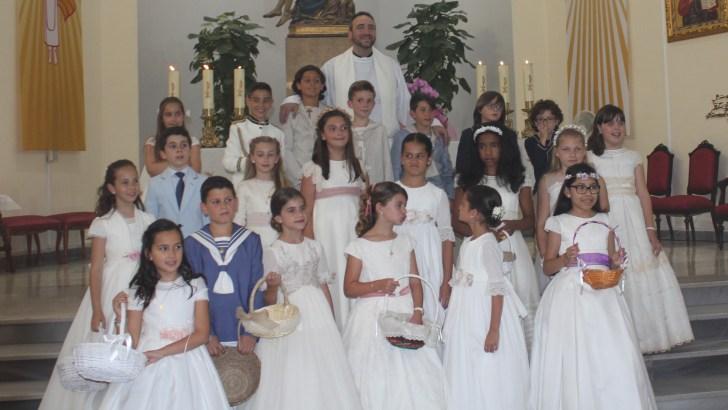 Las imágenes de la procesión del Corpus Christi en Buñol