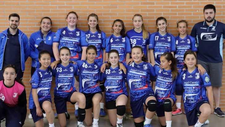 Once jugadoras y jugadores del Club Balonmano Buñol participarán en el Torneo de Selecciones Comarcales