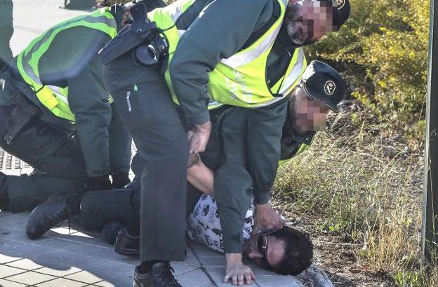 Así fue la detención de tres ladrones en Chiva