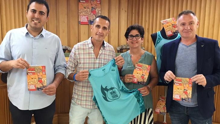 La XXIV 10K Carrera Tomatina se presenta oficialmente en Buñol