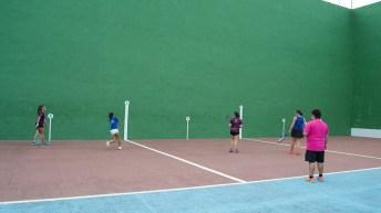 Este viernes se celebran las semifinales y la final mixta del Torneo de Frontenis de Buñol