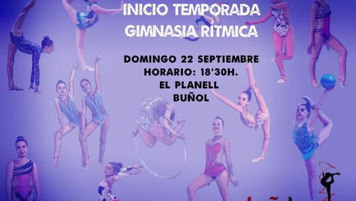 El Club de Gimnasia Rítmica de Buñol inicia la temporada con una exhibición en «El Planell»