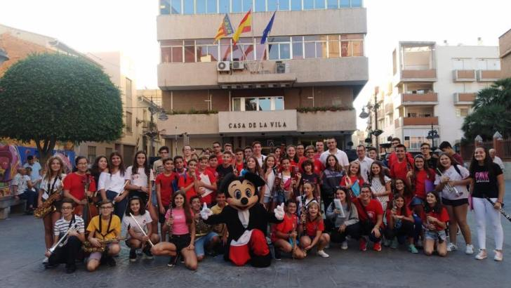 Concierto de Intercambio entre las Bandas Juveniles de La Artística de Buñol y del Centro Instructivo Musical de Mislata