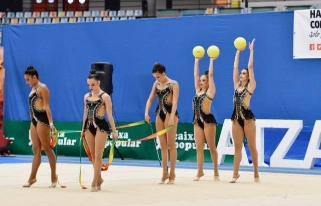El Club de Rítmica Buñol-Turís clasificado para el Campeonato de España base de conjuntos