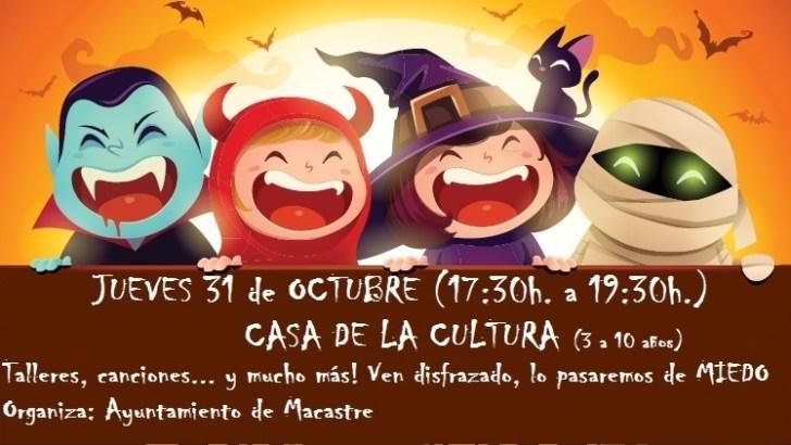 Macastre organiza su fiesta de «Halloween» para todas las edades