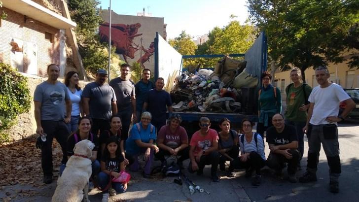 Éxito de la jornada de limpieza del Río Buñol