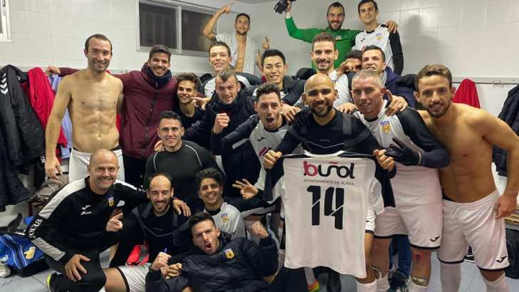El CD Buñol vence al Utiel 0 a 2 y sigue intratable