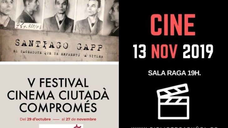 El ciclo Libros & Cine vuelve este miércoles a la Biblioteca de Buñol