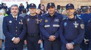 Tres policías de Chiva, condecorados por la Generalitat Valenciana