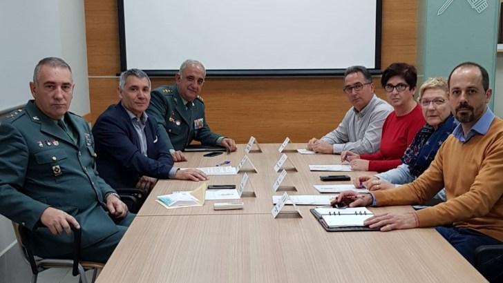 Buñol, Alborache, Macastre y Yátova siguen dando pasos para la ubicación del Puesto Principal de la Guardia Civil