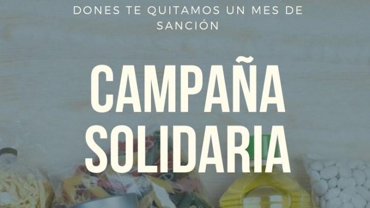 La Biblioteca de Buñol inicia una campaña solidara de recogida de alimentos