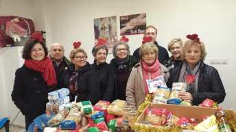 La I San Silvestre de Alborache consigue recaudar 235 kg. de alimentos no perecederos a beneficio de Cáritas