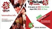 «La Tomatina» de Buñol comenzará a las 12h y contará con una fiesta «non-stop»