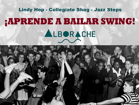 «The Shag Sharks» enseña a bailar swing en Alborache