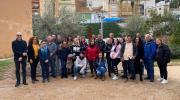 Chiva inicia un nuevo taller de empleo centrado en albañilería, pintura y jardinería