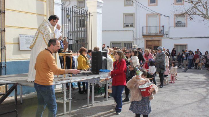 Macastre celebra «San Antón» a lo grande (imágenes)